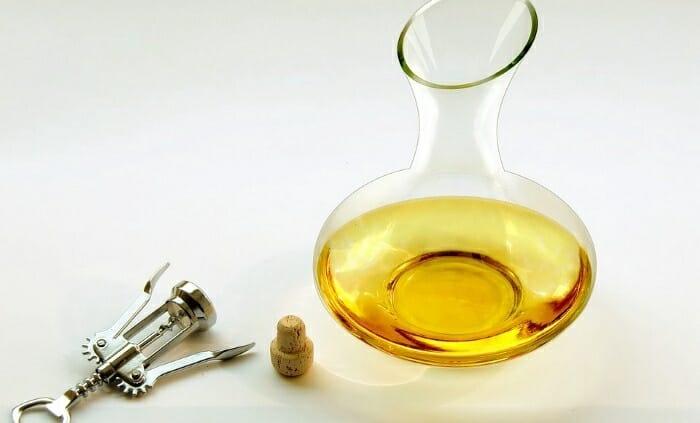 navodila za dekantiranje vina